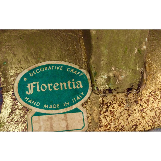 Florentine Gilt Magazine Rack - Image 5 of 9