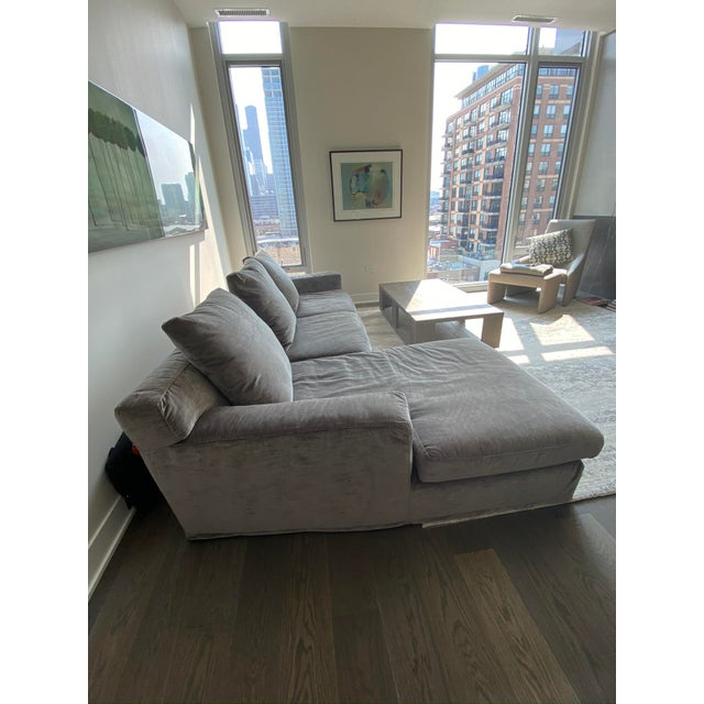 "Italian Contemporary Upholstered Sofa Sectional ""LeClub"" by Massimiliano Mornati for Jesse Furniture For Sale In Chicago - Image 6 of 13"