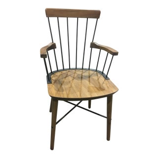 Creme Design Stellar Works Exchange Walnut Windsor Chair
