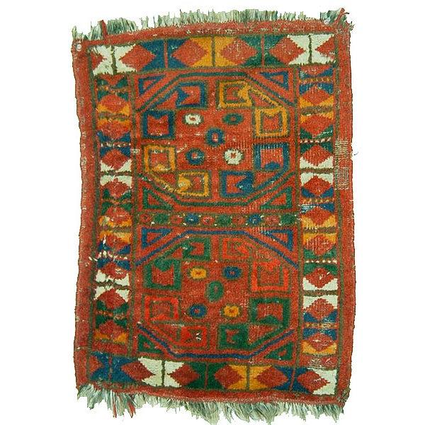 Uzbek Small Pile Rug Napramash #6 - 1′7″ × 2′3″ - Image 1 of 4