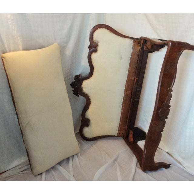 Early 20th Century Early 20th Century Antique Hand-Made Love Seat For Sale - Image 5 of 7