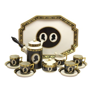 Colonial Coffee Service by Royal Copenhagen Porcelain For Sale