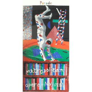 """Harlequin from Parade"" by David Hockney For Sale"