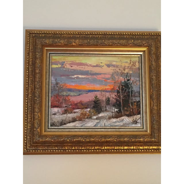 Russian Signed Oil on Canvas Paintings- Set of 2 - Image 3 of 6