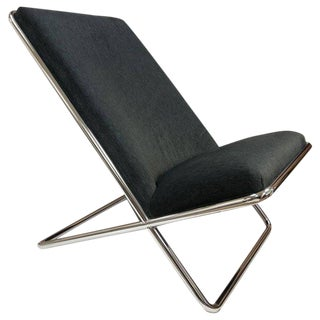 Ward Bennett Scissor Lounge Chair For Sale