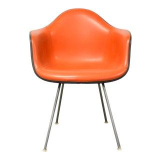 Orange Herman Miller Arm Shell Chair For Sale