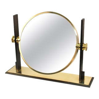 Karl Singer Modern Vanity or Table Mirror For Sale