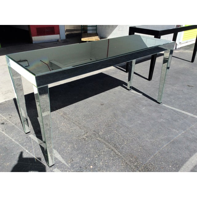 Large Beveled Mirror Hall Table - Image 5 of 7