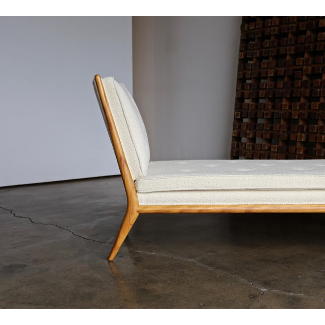 Mid-Century Modern T.H. Robsjohn-Gibbings Chaise Lounge for Widdicomb, Circa 1955 For Sale - Image 3 of 13