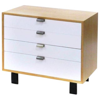 1950s Mid-Century George Nelson for Herman Miller Model Chest of Drawers For Sale