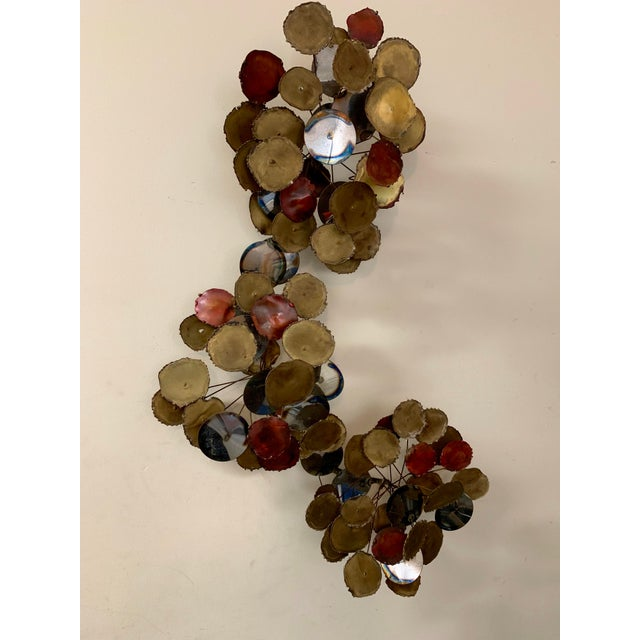 """Vintage 1979 """"Raindrops"""" Sculpture in the Manner of Curtis Jere For Sale - Image 13 of 13"""