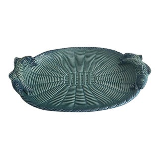 Portuguese Turquoise Platter