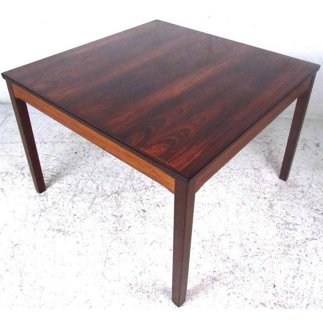 Bruksbo Mid-Century Bruksbo Rosewood Coffee Table by Haug Snekkeri For Sale - Image 4 of 9