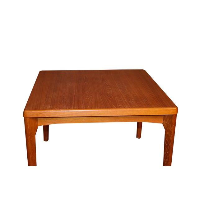 Wood Mid Century Vejle Stole Mobelfabrik Danish Side Table For Sale - Image 7 of 11