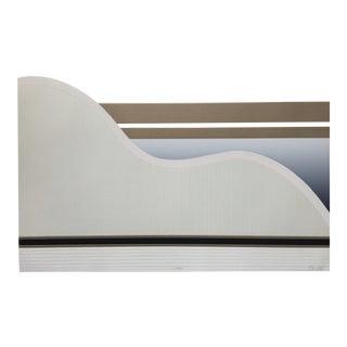 1987 Original Abstract Silkscreen Signed Ed Cota For Sale