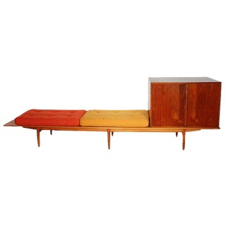 1950s Vintage John Kapel Bench For Sale