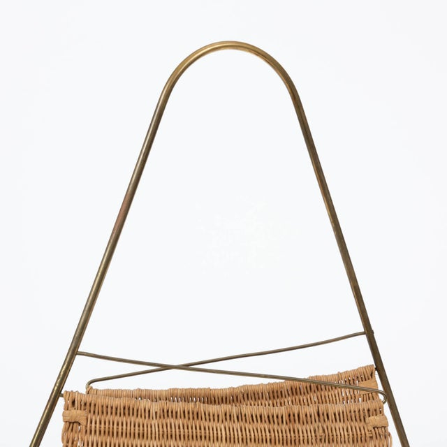Carl Auböck Attributed Magazine Rack For Sale - Image 11 of 12