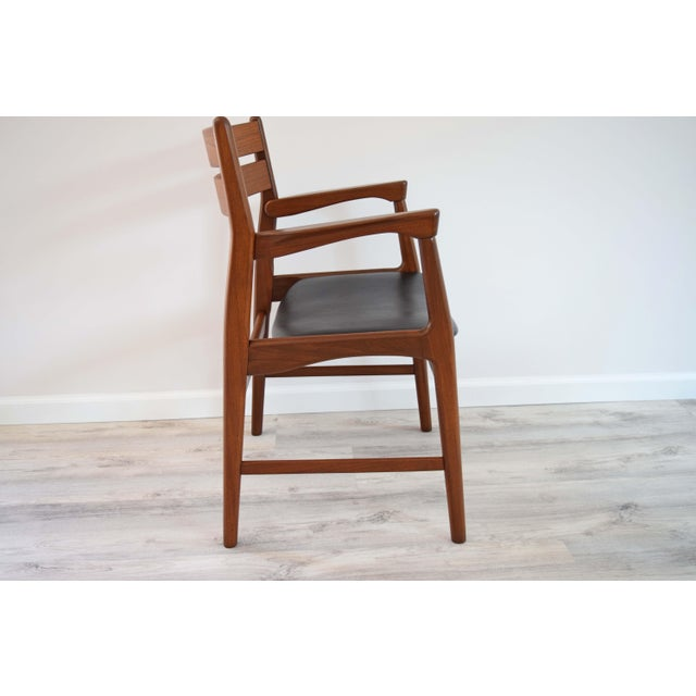 Late 19th Century Mid Century Modern Dining Chairs - Set of 4 For Sale - Image 5 of 13