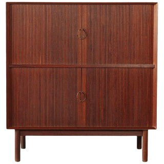 Peter Hvidt & Orla Mølgaard-Nielsen Tabour Door Cabinet, Denmark, 1950s For Sale