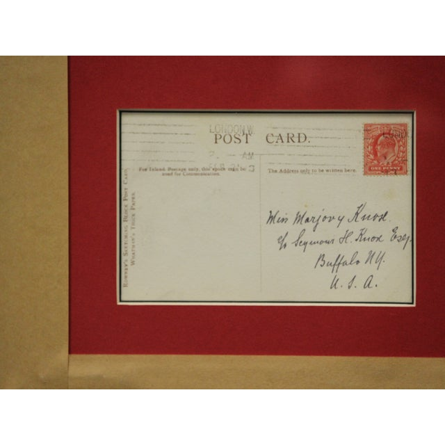 Five Postcard Pen & Ink Drawings, Circa 1910 For Sale - Image 5 of 10
