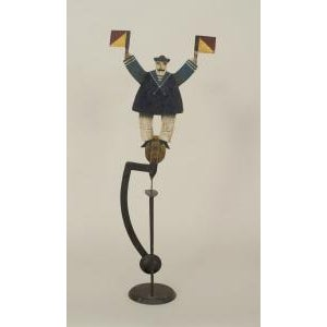 Americana Early 20th Century American Country Folk Art toy For Sale - Image 3 of 3