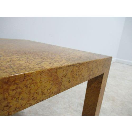 Henredon Decorator Faux Painted Coffee Table For Sale In Philadelphia - Image 6 of 10