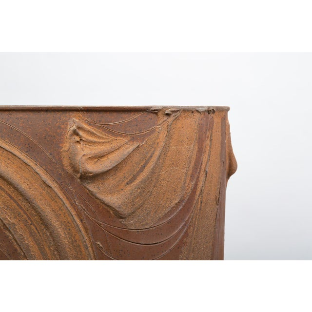 """Ceramic Pro/Artisan """"Expressive"""" Planter by David Cressey for Architectural Pottery For Sale - Image 7 of 9"""