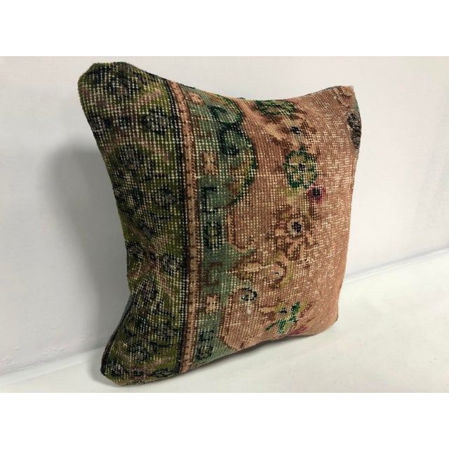 Handmade decorative Turkish vintage cushion cover. Antique handmade sofa pillow. Traditional Turkish Anatolian cushion...