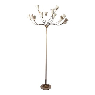 Italian Floor Lamp by Arteluce For Sale