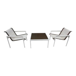 Pair of Richard Schultz Lounge Chairs for Knoll