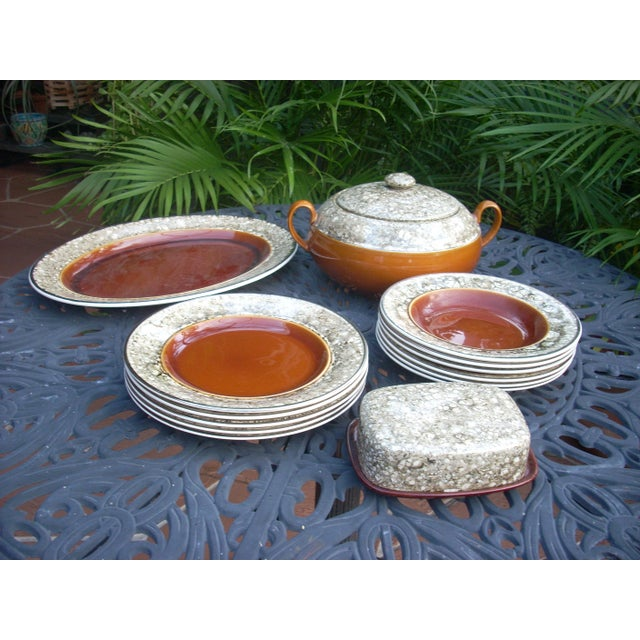 Lalins Country French Dinnerware - 14 Pieces - Image 2 of 5