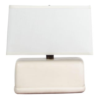 Pan Lamp - Cream Lacquer For Sale