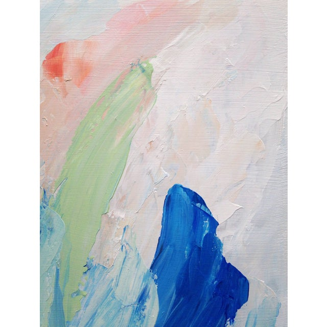 """Dani Schafer """"Quiet II"""" Original 2014 Painting - Image 4 of 8"""