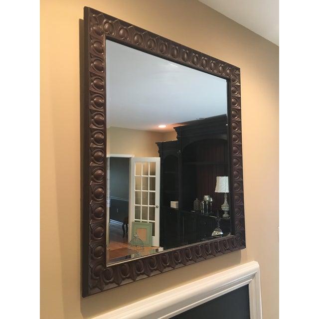 Americana Vintage Americana Tin Mirror For Sale - Image 3 of 4