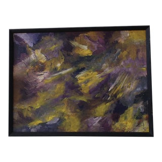 Mid-Century Modern Abstract Painting
