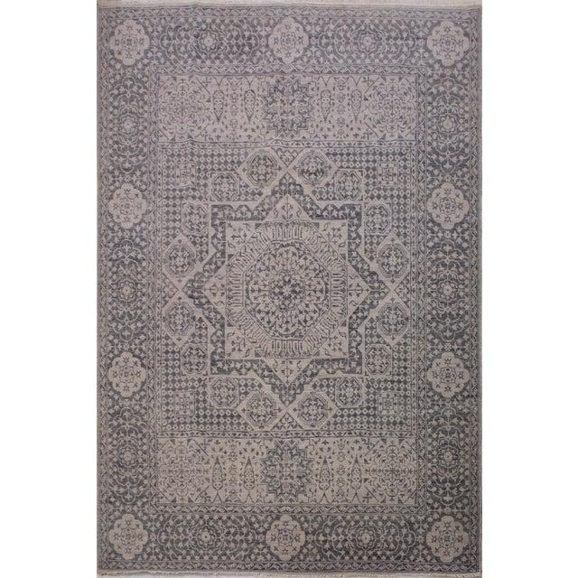 Mamluk Oushak Charmain Wool Rug - 9′1″ × 12′4″ For Sale In New York - Image 6 of 6