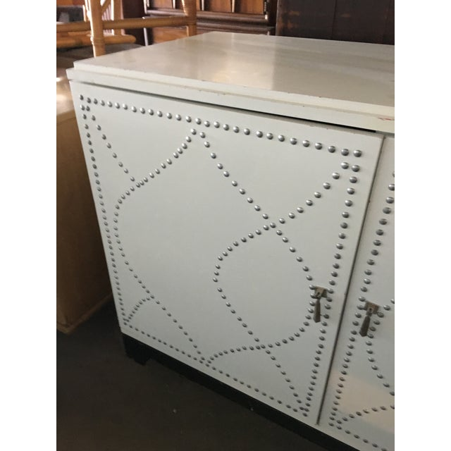 White Dry Bar Cabinet - Image 3 of 11