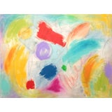 Image of Happy Thoughts II Abstract Painting by Sharon Pierce McCullough For Sale
