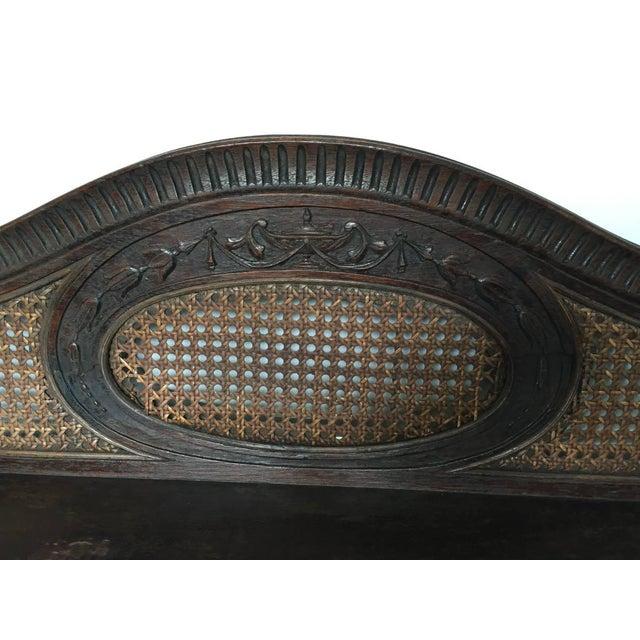 Vintage Elegant Wooden Desk - Image 3 of 5