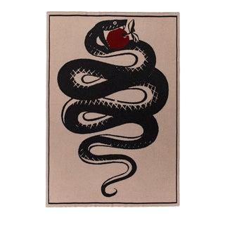 Serpent's Apple Cashmere Blanket, Queen For Sale
