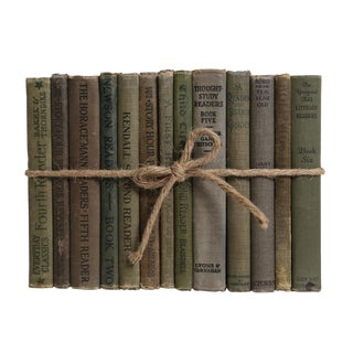 Antique Book Gift Set: Children's Readers, S/13 For Sale
