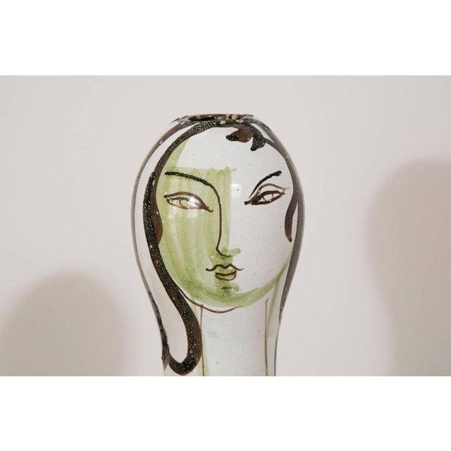 Grand Chêne Ceramic Vase, Vallauris, circa 1950 For Sale - Image 6 of 8