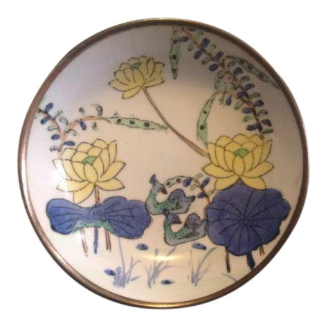 Decorative Hand Painted Plate For Sale
