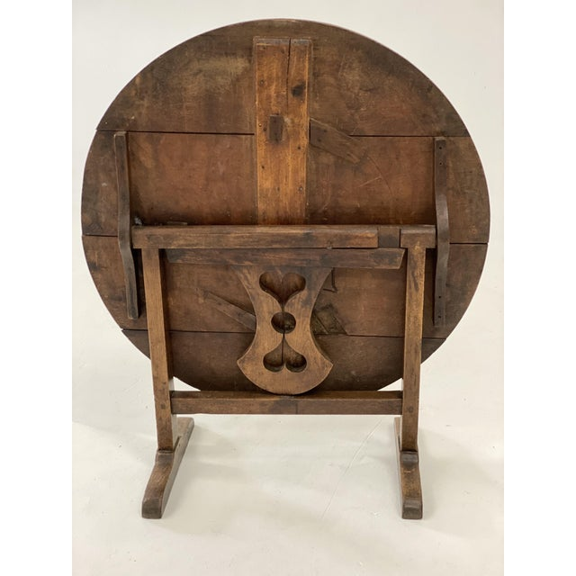 18th C. French Vendage Table For Sale - Image 10 of 11