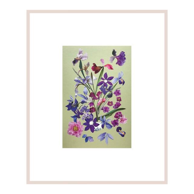 """Marcy Cook """"Franciacorta in Portofino"""" Original Fine Art Collage For Sale"""