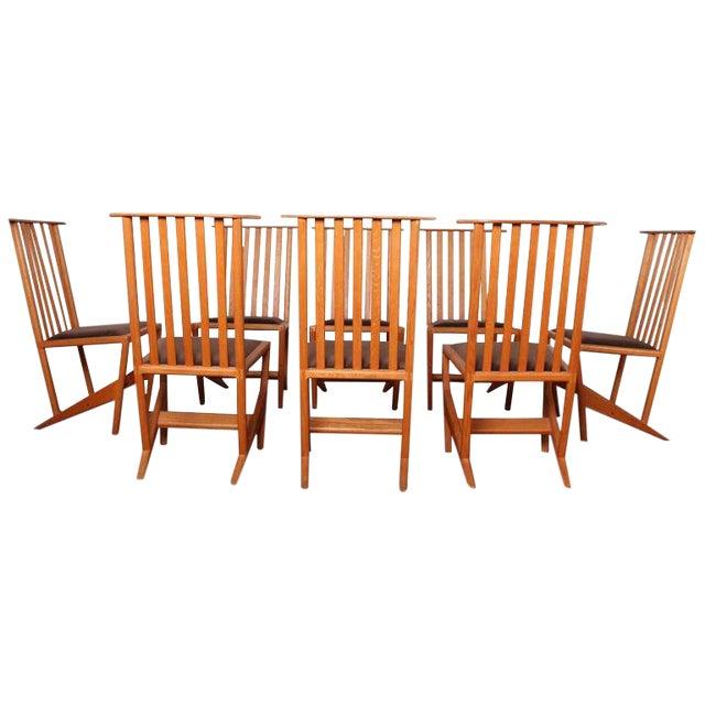 Studio Craft Dining Chairs by Derek Hennigar - Image 1 of 10