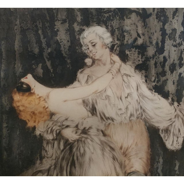 Louis Icart -Casanova - Original 1920s Lithograph -Pencil Signed - Image 5 of 11