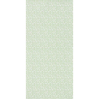 Sample - Schumacher X Celerie Kemble MeanderWallpaper in Moss Preview