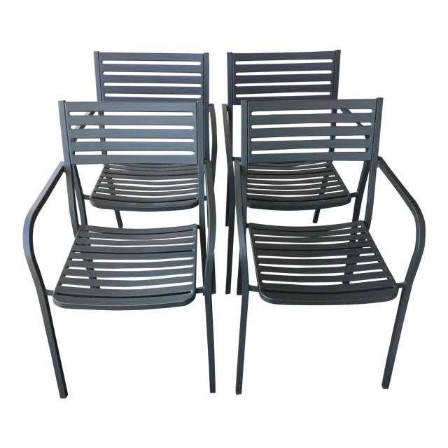 Emu Segno Stackable Outdoor Dining Chairs - Set of 4 - Image 1 of 8