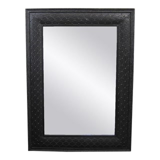 Metal Work Black Lace Mirror Frame